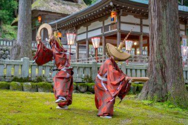 南砺市五箇山こきりこ祭り(2018/9/25-26)