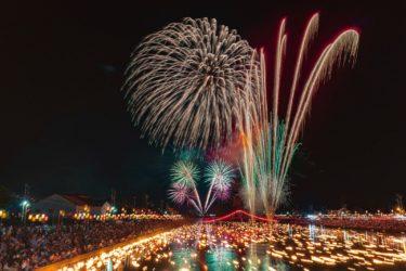 富山市水橋橋祭り花火大会(2018/8/19)