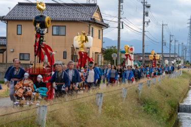 高岡市戸出町 幌武者祭り(2018/10/13)