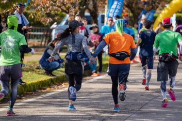 となみ庄川散居村縦断マラソン(2018/11/18)