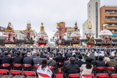 高岡御車山祭 宵祭・本祭(2019/4/30-5/1)