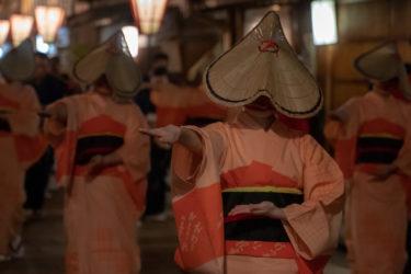 金沢東茶屋街・浅の川園遊会 越中八尾おわら流し(2019/4/13)