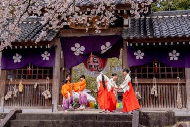 ふちゅう曲水の宴 in 富山市各願寺(2019/4/14)