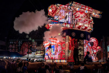 砺波夜高祭 行燈コンクール&行燈勢揃い(2019/6/14-15)