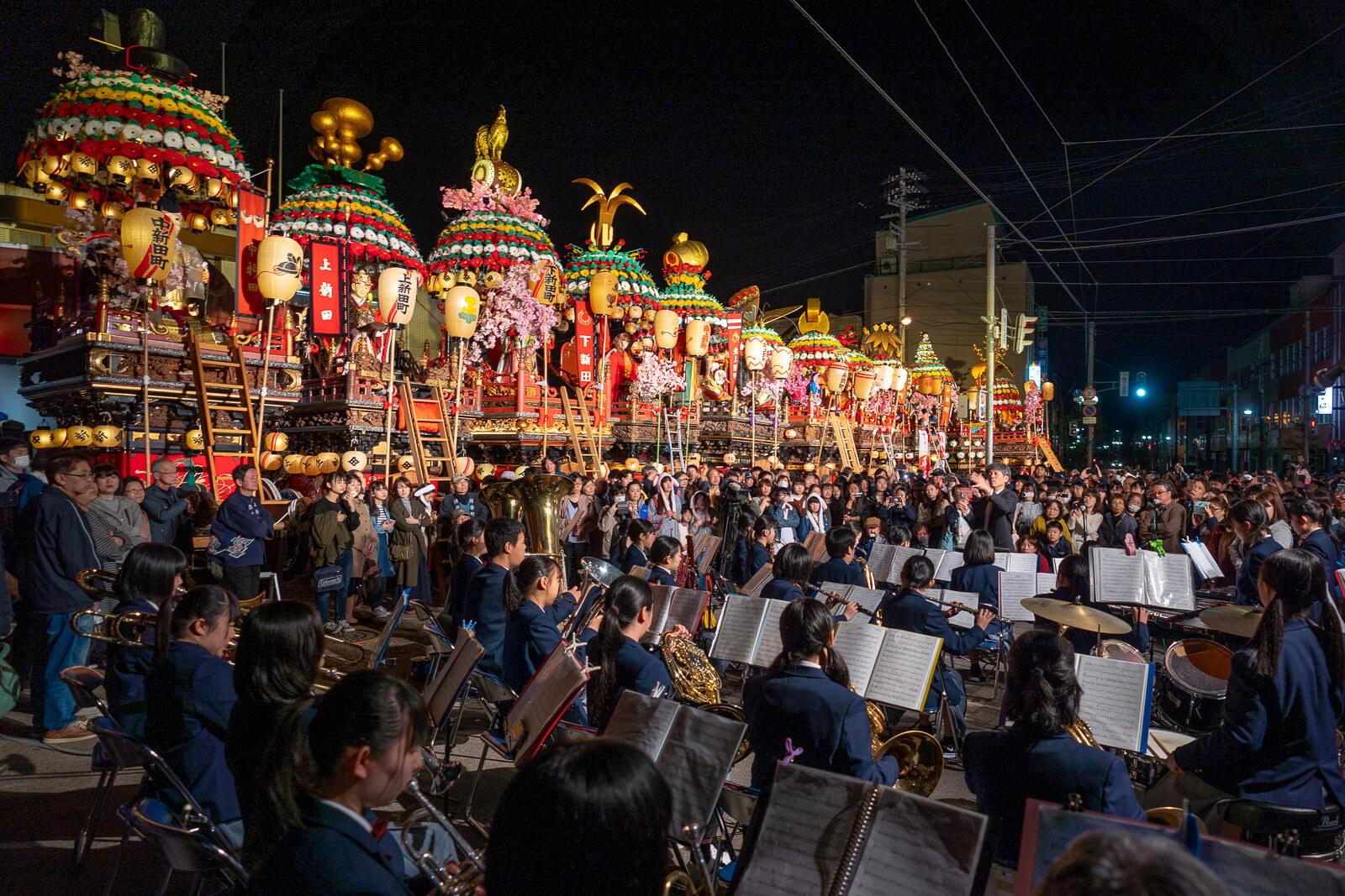 小矢部市石動曳山祭り2019