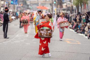 富山市平和通りチンドン大パレード(2019/4/7)
