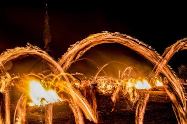 能登島向田の火祭(七尾市向田町キリコ祭り)(2019/7/27)