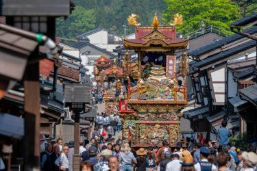 富山市越中八尾曳山祭(2019/5/3)