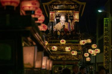 南砺市城端曳山祭(2019/5/4-5)