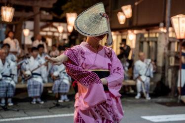 越中八尾おわら風の盆前夜祭初日 天満町(2019/8/20)