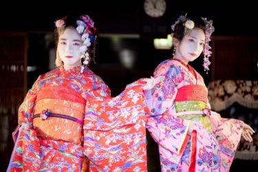 ミラレ金屋町富山大学生着物ファッションショー2日目(2019/9/22)