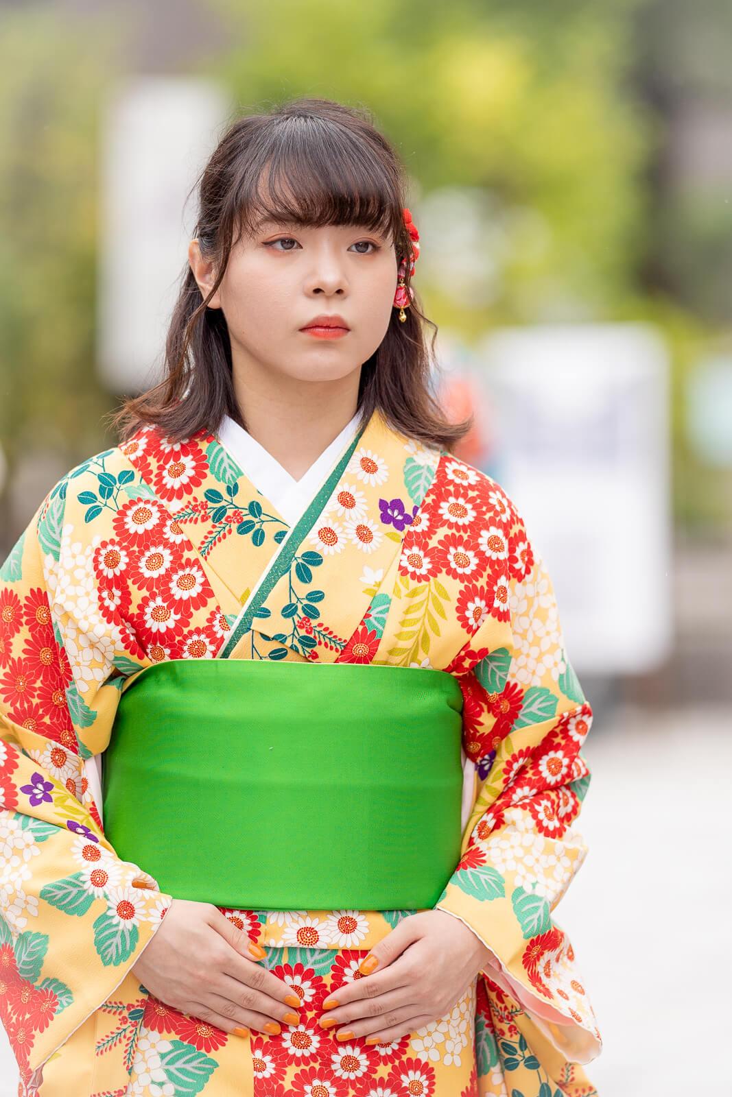 ミラレ金屋町富山大学生着物ファッションショー2019